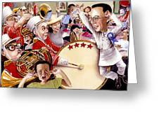 Celebrate Greeting Card by Denny Bond