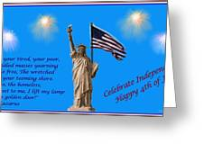 Celebrate Independence Greeting Card