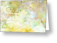 Celebrate Spring Abstract Art  Greeting Card