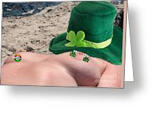 Celebrate St Pattys Day Greeting Card