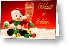 Celebrate The Holidays Greeting Card