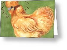 Celestial Chicken Sweet Potato Greeting Card