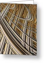 Celestial Harp Greeting Card by John Edwards