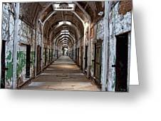 Cell Block One Greeting Card