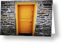 Cellar Door Greeting Card