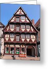 Celle Old Houses Greeting Card