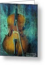 Cello  Greeting Card