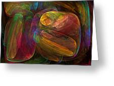Cellular Abstract.1. Greeting Card