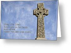 Celtic Blessing 2 Greeting Card