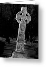 Celtic Cross 3d22026 Greeting Card