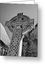 Celtic Cross At Trinity Greeting Card