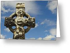 Celtic Cross, Cong Abbey, Ireland Greeting Card