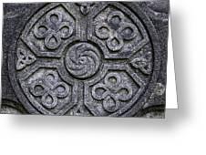 Celtic Cross Symbolism Greeting Card