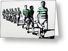 Celtic Fc Greeting Card