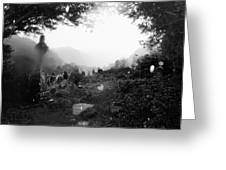 Celtic Graveyard Greeting Card