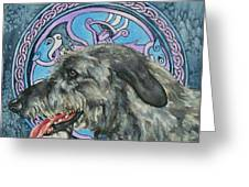 Celtic Hound Greeting Card