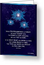 Celtic New Year Greeting Card
