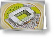 Celtic Park Greeting Card