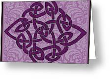 Celtic Wedding Knott Greeting Card