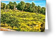 Cemetary Ridge Gettysburg Battleground Greeting Card