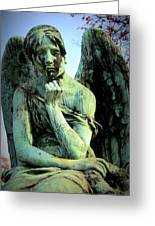 Cemetery Angel 2 Greeting Card