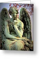 Cemetery Angel 3 Greeting Card