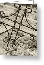 Cemetery Art Greeting Card