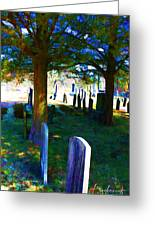 Cemetery Color 2 Greeting Card