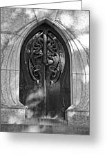 Cemetery Door 1 Greeting Card