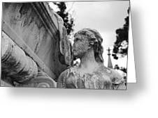 Cemetery Gentlewoman Greeting Card
