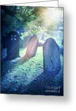 Cemetery Light Greeting Card