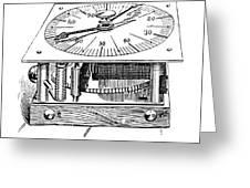 Census Machine, 1890 Greeting Card