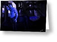 Centaur At Night Greeting Card