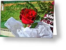 Centenary Rose Greeting Card