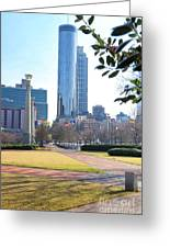 Centennial Olympic Park Greeting Card