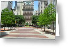 Center Of Dallas  Greeting Card