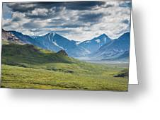 Center Of The Valley Greeting Card