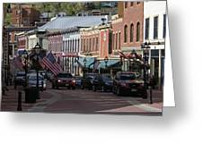 Central City  Greeting Card