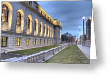 Central Library St. Louis Greeting Card