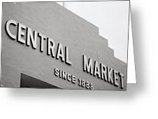 Central Market Greeting Card