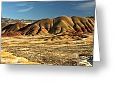 Central Oregon Painted Hills Greeting Card