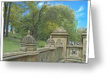 Central Park Bathsheba Terrace 2 Greeting Card