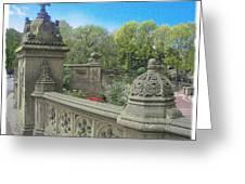 Central Park Bathsheba Terrace 3 Greeting Card