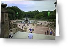 Central Park - Bethesda Fountain Greeting Card