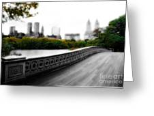Central Park Bridge 2 Greeting Card