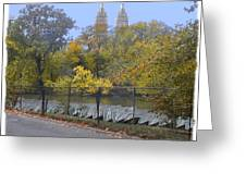 Central Park In Autumn 2 Greeting Card