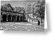 Central Park - Near Bethesda Fountain Greeting Card