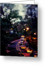 Central Park Nights Greeting Card