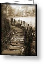 Central Park Path Greeting Card