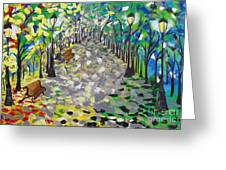 Central Park Serenity Greeting Card